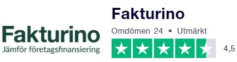 Fakturino på Trustpilot